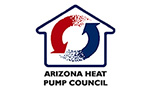 logo for arizona heat pump council