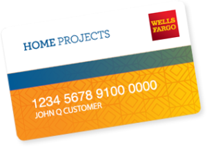 The Wells Fargo Home Projects Financing Card